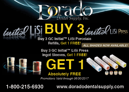 GC America - GC Initial LiSi Press & GC Initial LiSi Porcelain Buy 3 Get 1 Free!