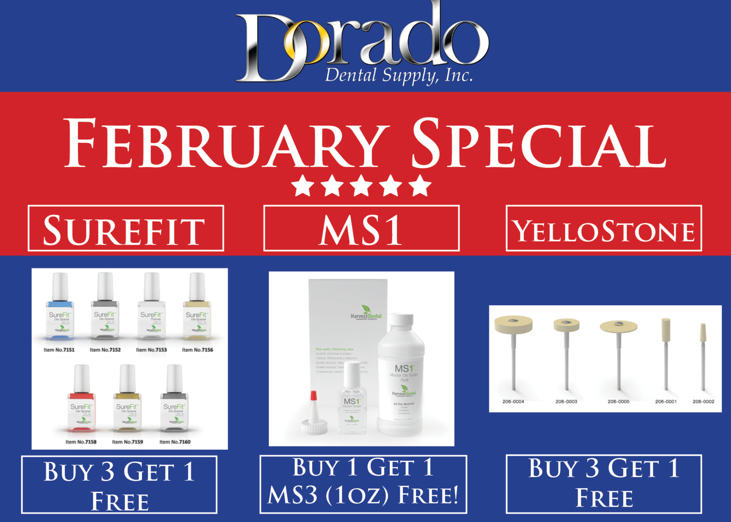 February 2018 Special - Dorado Dental Supply, Inc.